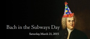 Bach in the Subways 2015