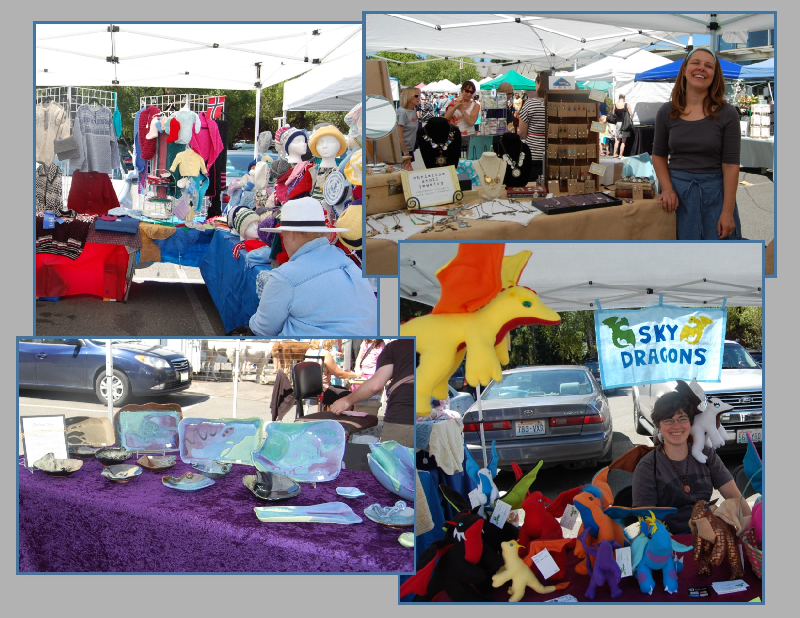 Crafts Market Collage