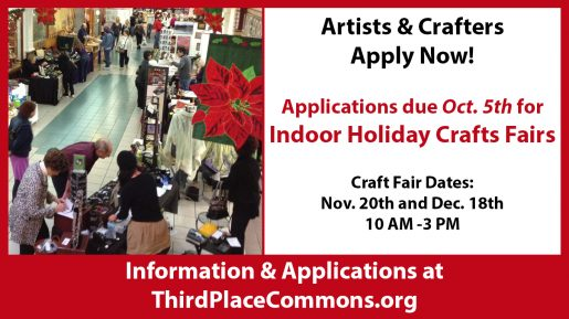 Apply now for the 2016 Holiday Crafts Fairs