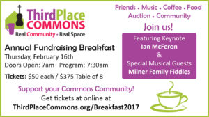 It's Breakfast Time! Join us Feb. 16th for the fun!