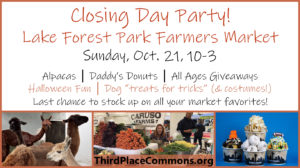 Donuts, Alpacas & More at Market Closing Party – This Sunday, 10/21